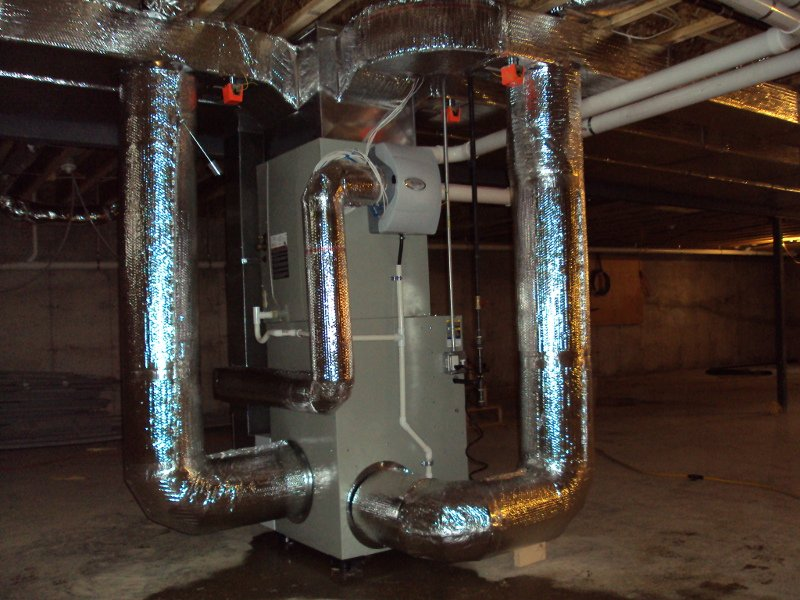 hover image heating cooling contractors Cape Cod Heating Cooling Contractors Furnace Basement